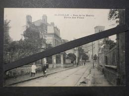 76 - Bléville - CPA - Rue De La Mairie - Ecole Des Filles - Dubois - TBE - Peu Commune - - Le Havre