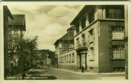 AK GERMANY -  ESSLINGEN A. N. - STAATL. INGENIEURSCHULE - 1950s (BG2711) - Eislingen