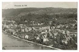 Panorama De Tilff - 1909 - Edit. A. Giard-Basse - 2 Scans - Esneux