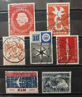 HOLANDA 1949- 1959. LOTE DE SELLOS USADOS - USED. - Periodo 1949 – 1980 (Juliana)