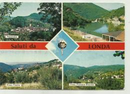 SALUTI DA LONDA - VEDUTE VIAGGIATA FG ( LIEVE PIEGA AL CENTRO ) - Firenze