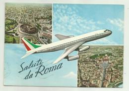 SALUTI DA ROMA   VIAGGIATA FG - Transports