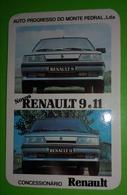 Calendrier De Poche RENAULT. 1987 - Calendars