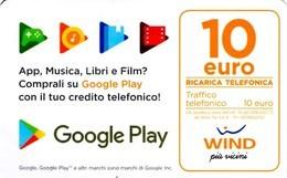 *ITALIA - WIND* - Ricarica Usata (sc. 30/06/2022) - Schede GSM, Prepagate & Ricariche