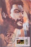 Lote PEP1321, Cuba, Postal, Postcard, Che Guevara, Cancelacion 30 Aniversario De Ciencias Medicas, 4 - Cuba