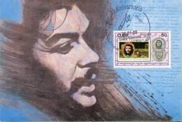 Lote PEP1322, Cuba, Postal, Postcard, Che Guevara, Cancelacion 30 Aniversario De Ciencias Medicas, 5 - Cuba