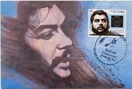 Lote PEP1323, Cuba, Postal, Postcard, Che Guevara, Cancelacion 80 Aniversario Del Natalicio, 1 - Cuba
