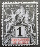 INDE N°1 Neuf * - India (1892-1954)