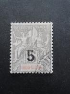 INDOCHINE N°22 Oblitéré Petit Aminci - Indochine (1889-1945)