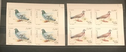 Algeria/Algerie Imperforated Faune Oiseaux PigeonsYT1391-YT1392 2blocs Non Dentelés Neuf**/MNH - Algeria (1962-...)
