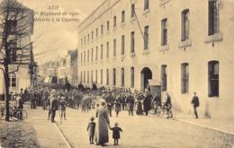 R184819 Ath. Ier Regiment De Ligne. Rentree A La Caserne. Lefebvre Laurent - Cartes Postales