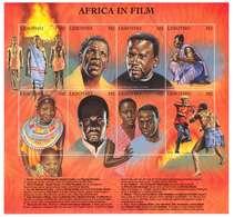 LESOTHO - Y. 1999 -   MINIFOGLIO NUOVO - AFRICA IN FILM - CINEMA - Lesotho (1966-...)
