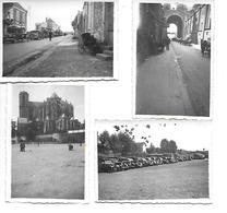 72 LE MANS  1940    SOLDATS ALLEMANDS  EXODE  OU RETOUR - Le Mans