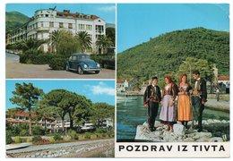 MONTENEGRO - TIVAT/TEODO - VOLKSWAGEN VW KAFER/BEETLE/COCCINELLE / COSTUMES - Montenegro