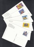 SCHWEIZ  P 267/01+/02+P 268-271, Ungebraucht, Breitling Orbiter, Rad-Team, Pingu, Vereinalinie, Tag Der Briefmarke, 1999 - Ganzsachen