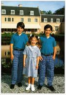 CPM Bernardo,Juliana En Nicolas Guillermo DUTCH ROYALTY (814466) - Familles Royales
