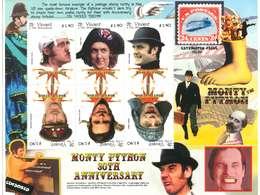 ST. VINCENT & THE GRENADINE - Y. 2000 -   FOGLIETTO NUOVO - MONTY PYTHON 30TH ANNIVERSARY - CINEMA - St.Vincent E Grenadine