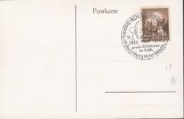 DR  665  Auf AK: Graf Zeppelin Und Graf Häseler, Mit Sonderstempel: Konstanz Zeppelinpost-Ausstellung 10.7.1938 - Briefe U. Dokumente