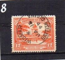 1934 GV 12c Used - British Guiana (...-1966)