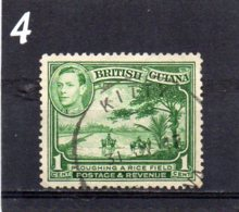 1936 GV1 1c Used - British Guiana (...-1966)