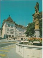 D1329 FRIBOURG - PLACE NOTRE DAME - HOTEL DE LA ROSE - Hotels & Restaurants