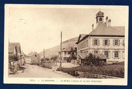 68. Le Bonhomme. La Mairie, L'école Et La Rue Principale. 1937 - Autres Communes