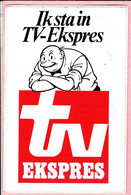 Sticker - Suske En Wiske - Ik Sta In TV Ekspres - Lambic I - Autocollants