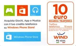 *ITALIA - WIND* - Ricarica Usata (sc. 31 / 12 / 2021) Variante? - Schede GSM, Prepagate & Ricariche