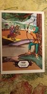 OLYMPICS ORIGIN - OLD USSR Postcard -1976 - Archery - Archer - Tir à L'Arc