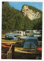 VITRAC--1982-- Camping De CAUDON-PLAGE (animée,caravanes,tentes)...-timbre--cachet SARLAT - 24..........à Saisir - Francia