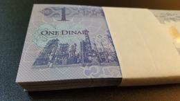 Lot Of 5 (1 Libyan Dinar) Uncirculated Banknotes 2019 TBB Libya B550a - Libia