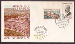 YN134   SÉNÉGAL 1965 Direction Des PTT FDC - Senegal (1960-...)