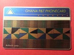 GHANA Landis Gyr - 1st Issue - CN: 910A - 60 Units - First Print : Adwin !! MINT Neuve (CB1217) - Ghana