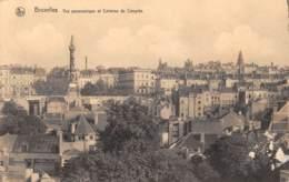BRUXELLES - Vue Panoramique Et Colonne Du Congrès - Panoramische Zichten, Meerdere Zichten