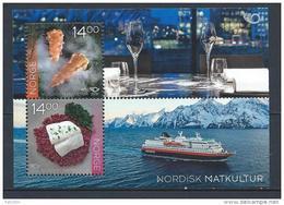 Norvège 2016 Bloc F1845 Neuf Norden Gastronomie - Blocs-feuillets