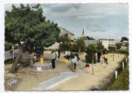 LES MOUTIERS --Le Golf Miniature (très Animée )..............à  Saisir - Les Moutiers-en-Retz
