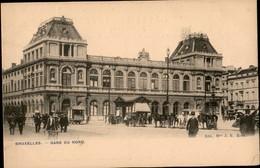 BRUXELLES :  Gare Du Nord - Monuments, édifices