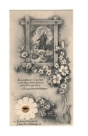 137 Santino Antico  San Giuseppe Benedetto Cottolengo Con Reliquia Ex Indumentis - Religion & Esotérisme