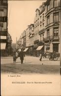 Bruxelles :  Rue Du Marché Aux Poulets - Avenues, Boulevards