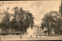 Bruxelles :  Au Parc : Le GRand Bassin  SBP 26 - Monuments, édifices