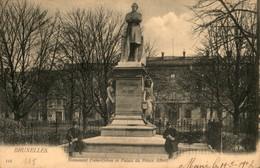 Bruxelles :  Monument Frère Orban Et Palais Du Prince Albert - Monuments, édifices