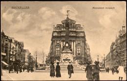 Bruxelles :  Monument Anspach - Monumenten, Gebouwen