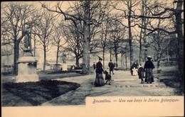 Bruxelles :  Une Vue Dans Le Jardin Btanique - Forêts, Parcs, Jardins
