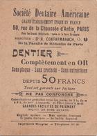 Société Dentaire Américaine, Paris - Artis Historia