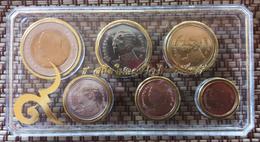 THAILAND 2016 LAST COIN SET KING BHUMIBOL UNC MINT - Thaïlande