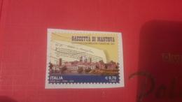 2014 350 Anniversario Della Fondazione Della Gazzetta Di Mantova - 6. 1946-.. Repubblica