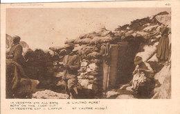 """(CM).""""La Vedetta Sta All'erta E L'altro Pure"""".F.to Piccolo.Nuova (176-a17) - Guerra 1914-18"""