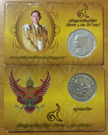 THAILAND 1974 Y#100 MEMORIAL ISSUE OF KING BHUMIBOL RE-ISSUED 2016 - Thailand