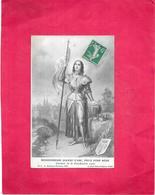 BIENHEUREUSE JEANNE D'ARC - Souvenir De La Béatification 1909  - BES1 - - Femmes Célèbres