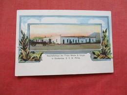 Okahandya Namibia, Geschäftshaus Der Firma Wecke & Voigts    Ref 3212 - Postcards